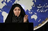 خارجية إيران: احتجزنا السفينة الأمريكية وفقا للأعراف الدولية