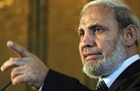 """الزهار: دعوة السيسي لـ""""حماس"""" تنسجم مع سياسة الحركة"""