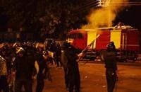 الأمن يفرق مسيرة ليلية لطلاب الأزهر بقنابل الغاز
