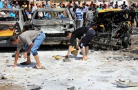 محاولة لاقتحام محكمة في بغداد و25 قتيلا في العراق