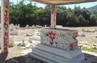فلسطينيو الداخل يتصدون لمحاولة نبش مقبرة القسام (شاهد)