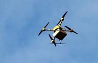طائرة من دون طيار لتوصيل البيتزا