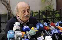 جنبلاط يقرأ نصيب لبنان بعد سيطرة نظام الأسد على حلب