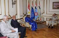 ضغوط سعودية على رئيس الاتحاد الإفريقي لتلميع السيسي
