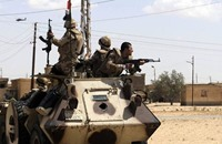 """الجيش المصري يقتل 7 أشخاص من """"ولاية سيناء"""""""
