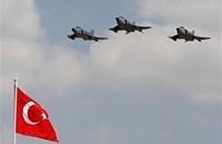 مقاتلات تركية تتعرض للتحرش من رادارات سورية