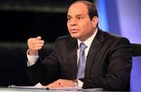 السيسي يطمئن إسرائيل بأن الجيش في سيناء لحماية أمنها