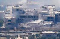 الثوار يواصلون السيطرة على أجزاء من مشفى جسر الشغور