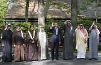 موقف محرج لولي عهد أبو ظبي في قمة كامب ديفيد (فيديو)