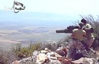 """""""تجمع العزة"""" يبث فيديو لتدمير مركبة للنظام بريف إدلب (شاهد)"""