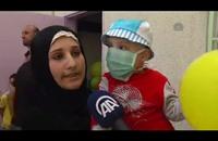 """شبان في غزة """"يحلقون رؤوسهم"""" تضامنًا مع أطفال مصابين بالسرطان"""
