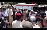 """جنازة """"مهيبة"""" في الدار البيضاء للطيار المغربي المتوفي باليمن"""