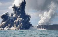 رصد ثوران بركان بقاع المحيط قبالة ساحل ولاية أوريغون