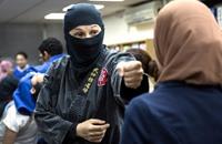 """مصريات يواجهن التحرش على طريقة """"سلاحف النينجا"""" (فيديو)"""