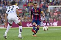 برشلونة يمنح ديبورتيفو نقطة تبقيه بالدوري