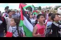 مسيرة بالضفة تطالب بتجميد عضوية اتحاد الكيان الإسرائيلي في الفيفا