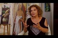 فنانة تشكيلية لبنانية تجسّد الثورة المصرية وآلام غزة والجوع العالمي