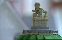 نابليون يعود إلى واترلو...على شكل قطع ليغو