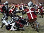 بولندا تتغلب على أمريكا في معركة من القرون الوسطى