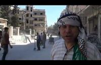 حملة لتنظيف مخيم اليرموك بدمشق من مخلفات القصف