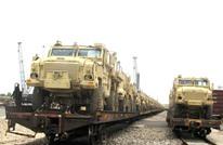 الولايات المتحدة تسلم مدرعات مضادة للألغام للجيش المصري