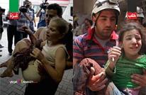 حلب وغزة.. صورة واحدة تختصر الحكاية (صور+فيديو)