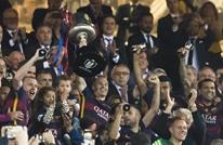 هكذا سخر عشاق برشلونة من رونالدو بعد التتويج بكأس الملك (صورة)