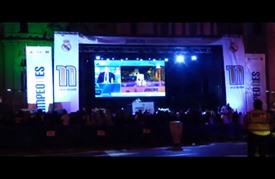 ريال مدريد يحتفل بكأس دوري أبطال أوروبا لكرة القدم