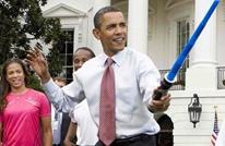 """أوباما وزوجته يرقصان على لحن """"حرب النجوم"""" (فيديو)"""