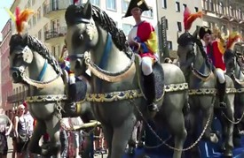 مدينة ماينز الألمانية تقيم عرضها التقليدي السنوي