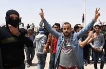 """""""بوعزيزي جديد"""" يشعل النار بنفسه ويفجر الغضب بتونس (فيديو)"""