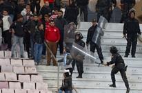 شغب وإصابات بديربي تونس بين الأفريقي والترجي (فيديو)