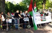 تظاهرات أمام سفارة إسرائيل ببرلين تضامنا مع الأسرى (صور)