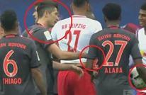 ألابا يسجل هدفا تاريخيا بعدما أحرج زميله لفاندوفسكي (فيديو)