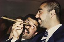 هكذا استقبل ملوك السعودية نجل صدام حسين (شاهد)
