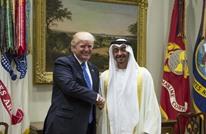 ترامب يلتقي ابن زايد ويبحثان احتواء أزمات المنطقة
