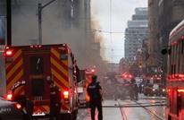 في عيد العمال.. انفجار قوي يهز حي المال في تورنتو (شاهد)