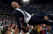 """ماذا قال رئيس ريال مدريد عن زيدان بعد التتويج بلقب """"الليغا""""؟"""