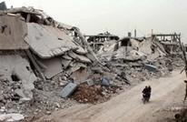 طائرات النظام تلاحق نازحي درعا الذين فروا من منازلهم