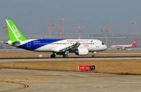 طائرة صينية للركاب تنافس بوينغ وإيرباص تقلع بنجاح