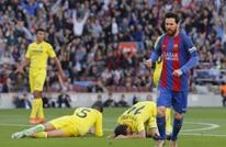 برشلونة يفوز برباعية وميسي يسجل ركلة جزاء ساحرة (فيديو)