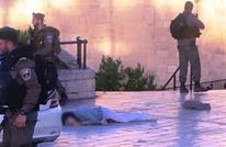 شهيدة فلسطينية في القدس بزعم تنفيذ عملية طعن (فيديو)