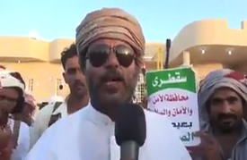 شيخ قبلي بجزيرة سقطرى يلوح بقتال القوات الإماراتية (شاهد)
