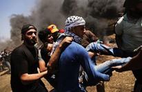 """3 شهداء وعشرات الإصابات بغزة بجمعة """"الثبات والصمود"""""""