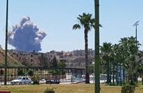 إعلام نظام الأسد يتحدث عن انفجارات في مطار حماة العسكري