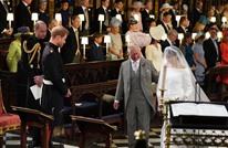 """زواج ملكي ببريطانيا.. الأمير هاري وميغان بـ""""قفص الزوجية"""" (شاهد)"""