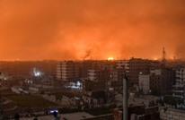 انفجارات بمطار الضبعة بحمص.. والنظام السوري: غارات معادية