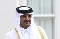أمير قطر يبحث مع ظريف مستجدات المنطقة وعلاقات البلدين