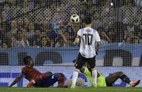 الأرجنتين تفوز وديا بهاتريك ميسي وطفلاه يحتفلان (شاهد)