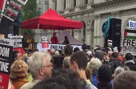 بدء فعاليات ذكرى النكبة بلندن بمسيرة إلى مقر الحكومة (شاهد)